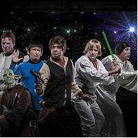 Footy Show Star Wars